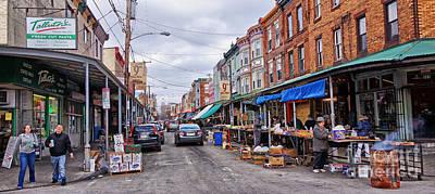 Philadelphia Italian Market 2 Poster