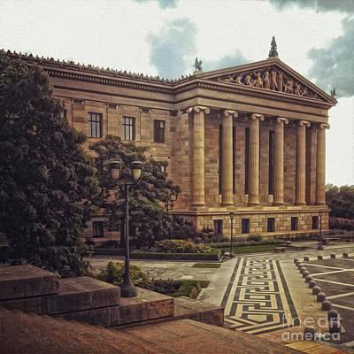 Philadelphia Museum Of Art Poster