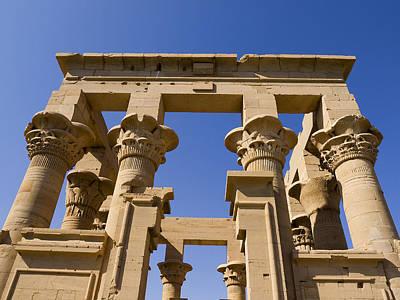 Philae Temple Egypt Poster by Brenda Kean
