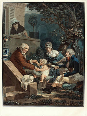 Philibert-louis Debucourt, French 1755-1832 Poster by Litz Collection