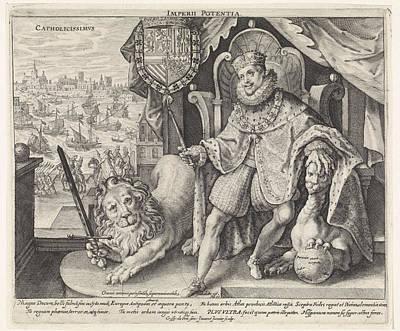 Philip IIi, Crispijn Van De Passe II Poster by Crispijn Van De Passe (ii)