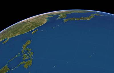 Philippine Sea, Satellite Artwork Poster by Science Photo Library
