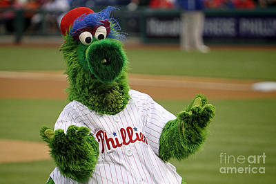 Phillies Phanatic Why Not Poster