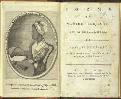 Phillis Wheatley Poster by British Library