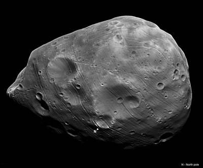 Phobos Poster by Science Source