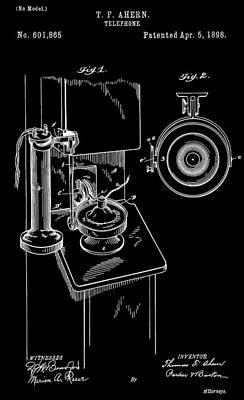 Phone Patent Poster