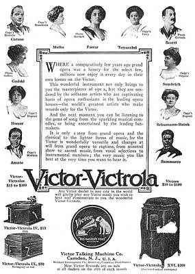 Phonograph Ad, 1912 Poster