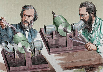 Phonograph Created In 1877 By Thomas Poster