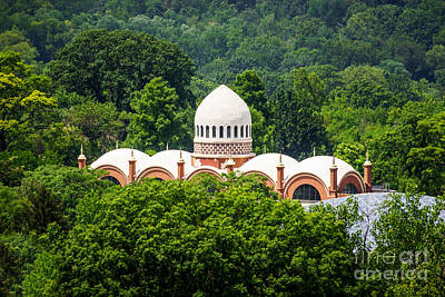 Photo Of Elephant House At Cincinnati Zoo Poster by Paul Velgos