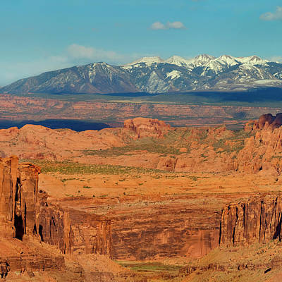 Photo Taken From Long Canyon Poster by Howie Garber