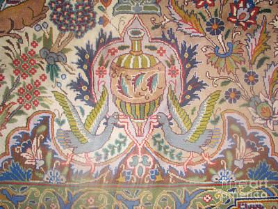 Photos Of Persian Rugs Kilims Carpets Brids And Vase Spring Ruf Photos Poster