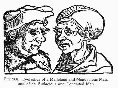 Physiognomy, 1533 Poster by Granger