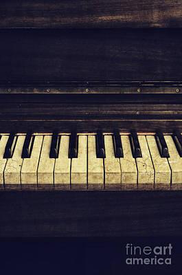 Piano Poster by Jelena Jovanovic