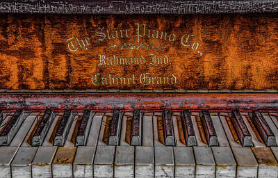 Piano Keys #1 Poster