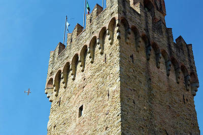 Piazza Della Libert?, Town Hall Tower Poster