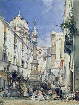 Piazzetta Riario Sforza Poster