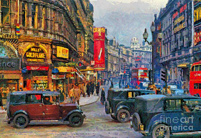 Picadilly Circus Poster