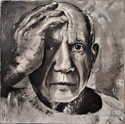 Portrait Of Pablo Picasso Poster