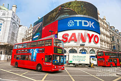 Piccadilly Circus - London - Uk Poster