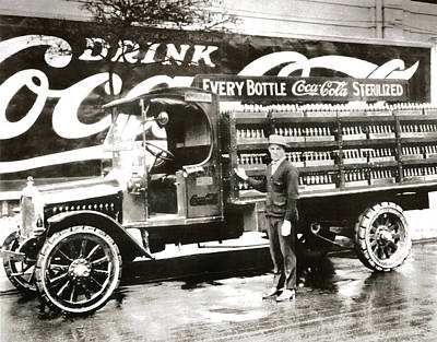 Picture 7 - New - Coca Cola Delivery Truck Poster