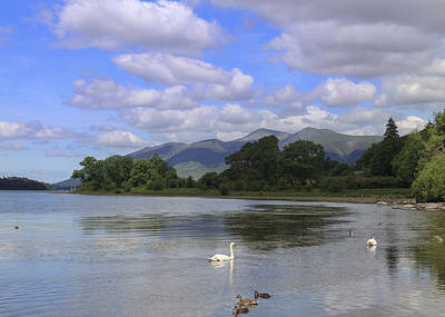 Picturesque Lake District Poster