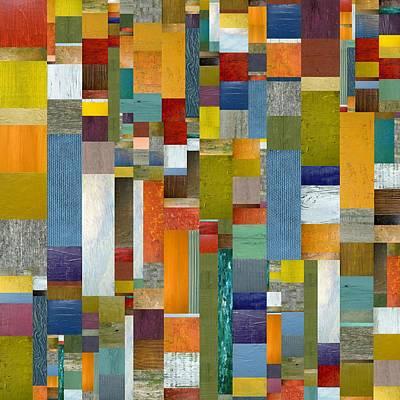 Pieces Parts Vl Poster by Michelle Calkins