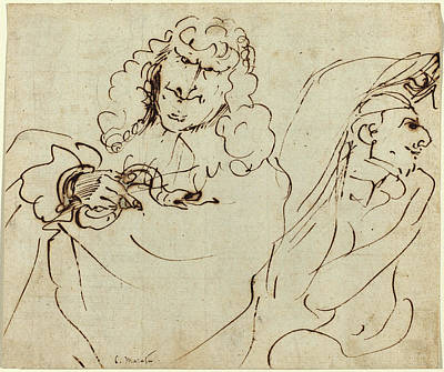 Pier Francesco Mola Italian, 1612 - 1666 Poster by Quint Lox
