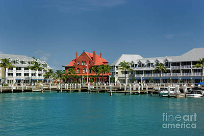 Pier Key West Florida Poster