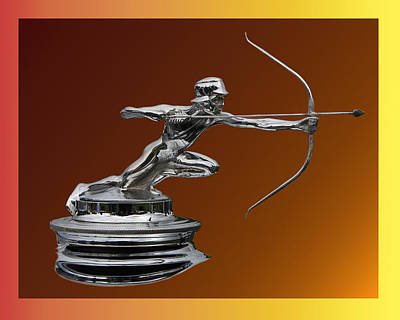 Pierce Arrow Hunter Mascot Poster