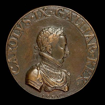 Pierre II Woeiriot De Bouzey, Charles Ix, 1550-1574 Poster by Quint Lox