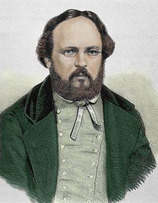 Pierre Joseph Proudhon (1809-1865 Poster