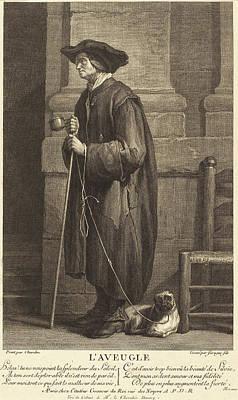 Pierre Louis De Surugue After Jean Siméon Chardin French Poster