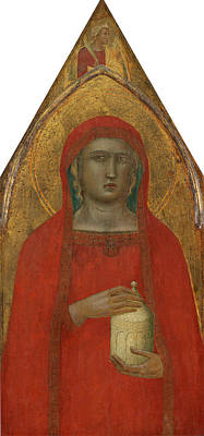 Pietro Lorenzetti Italian, Active C. 1306 - Probably 1348 Poster by Quint Lox