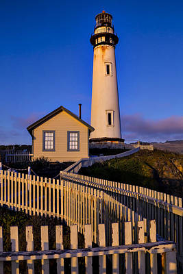 Pigeon Point At Sunset Poster