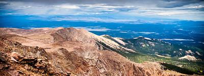 Pikes Peak Vista Poster