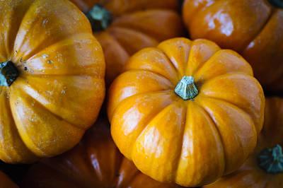 Pile Of Pumpkins Poster