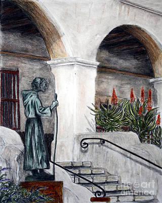 Pilgrim From The Past Poster by Danuta Bennett