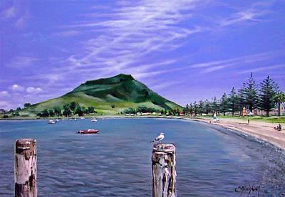 Pilot Bay Mt M 281007 Poster by Sylvia Kula