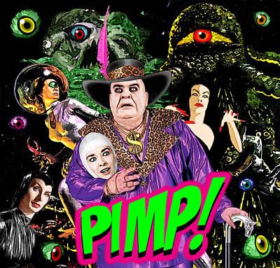 Pimp Johnson Poster by Jack Joya