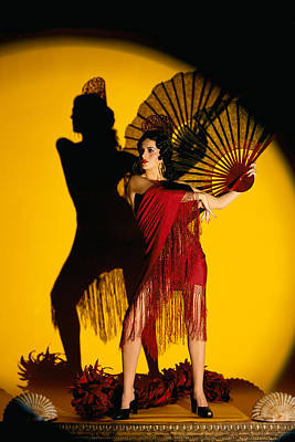 Pin-up Spanish Lady Poster by Glenn Specht
