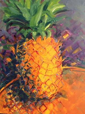 Pineapple Explosion Poster