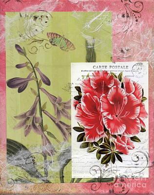 Pink Azalea Poster by Tamyra Crossley