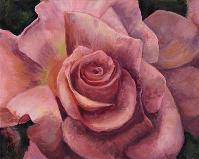 Pink Bloom Poster by Billie Colson