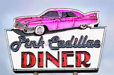 Pink Cadillac Diner Poster