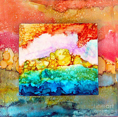Pink Clouds Poster by Alene Sirott-Cope
