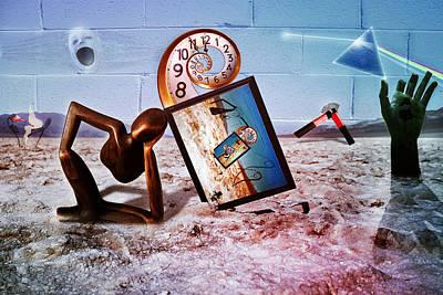 Pink Floyd Perceptual Thinker Poster by Becca Buecher