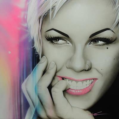 Alecia Moore - ' Pink I I ' Poster