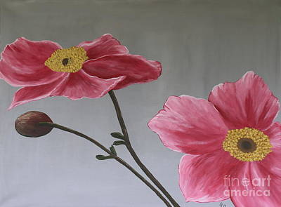 Pink Mexican Aster  - Sold Poster by Christiane Schulze Art And Photography