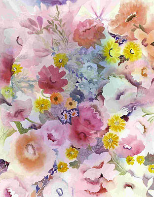 Pink Profusion Poster
