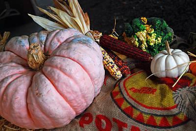 Pink Pumpkin Poster